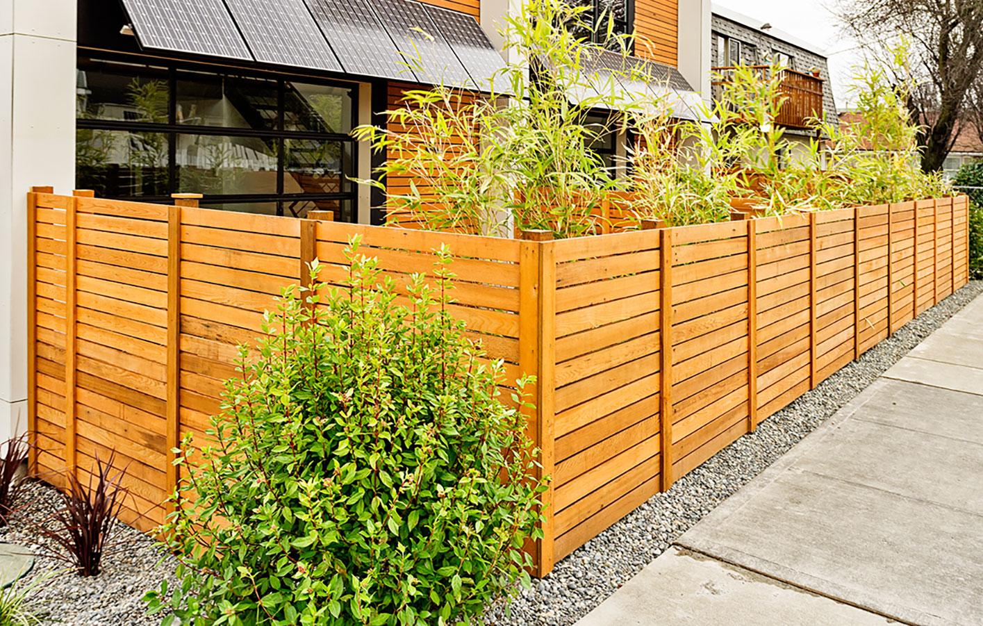 Zaun & Sichtschutz Holzmarkt Wigbels
